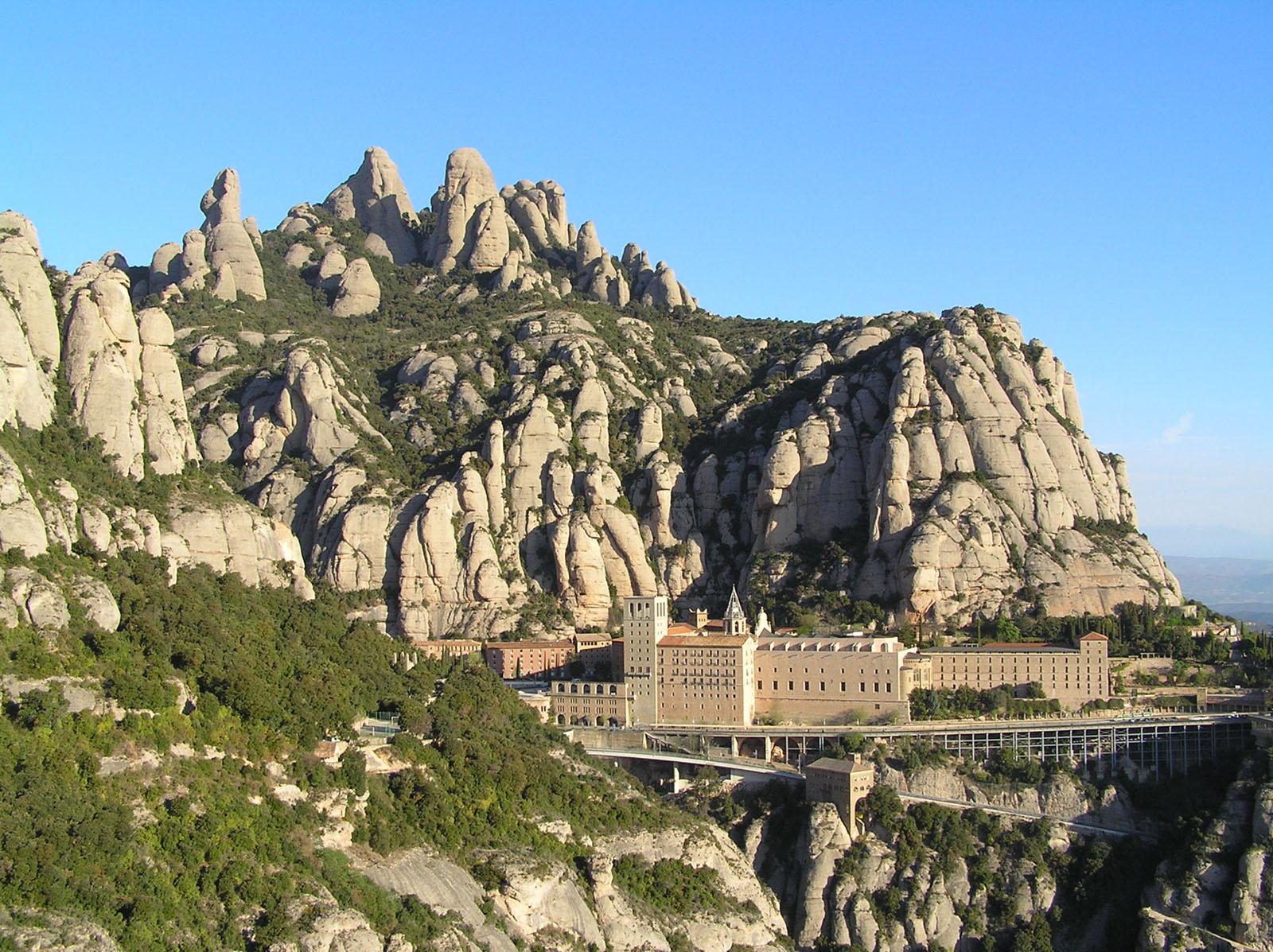 Abadia Montserrat - Montserrat-Catalunya-Espanya