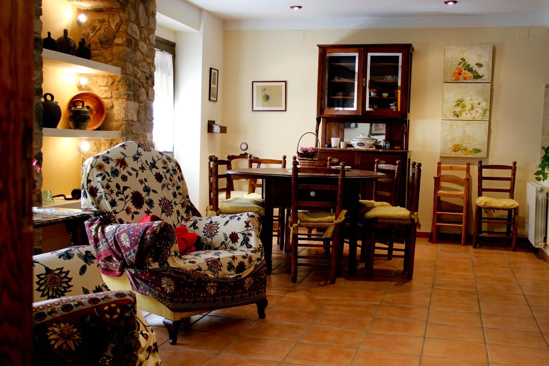 alforja casa gran menjador - Where to rest-Serra de Montsant