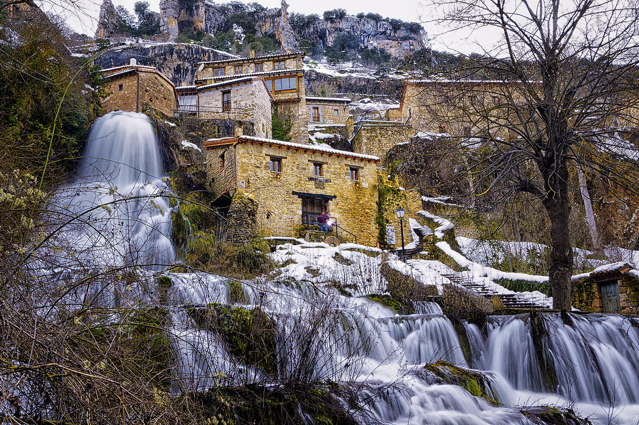 casa rural el molino de cascada - Where to rest-Hoces Alto Ebro