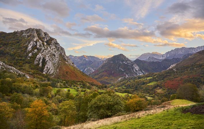 ponga parque natural - Parque Natural de Ponga-Asturias-España