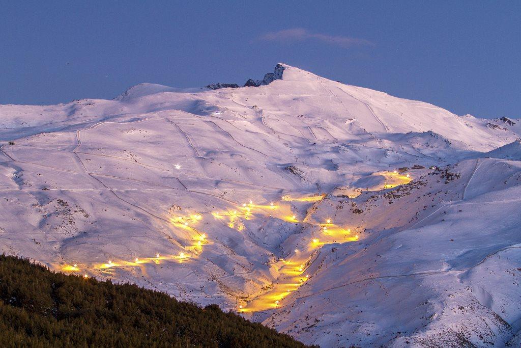 sierra nevada nocturno - Sierra Nevada-Andalusia-Spain