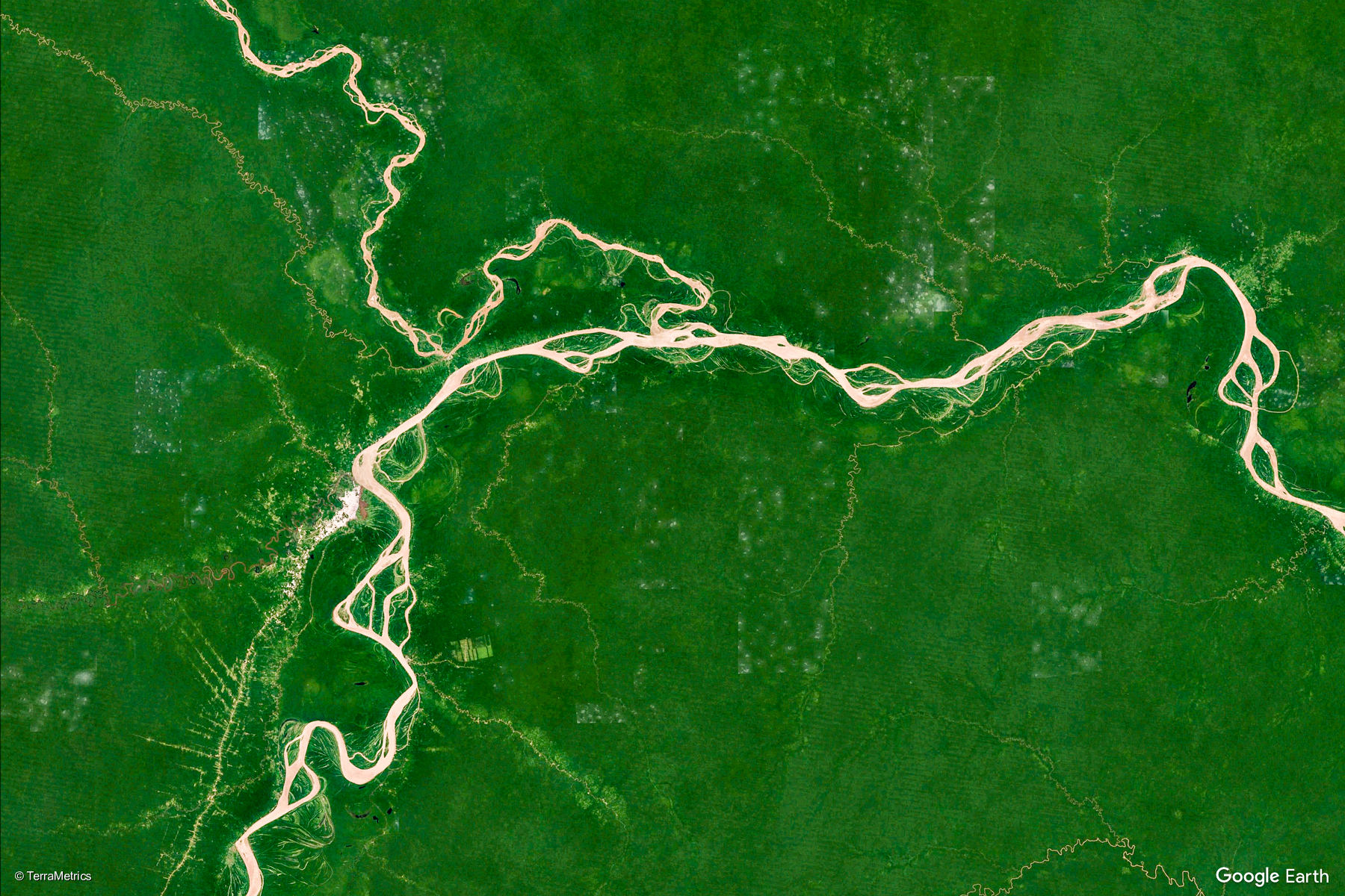 Amazon view Natural Parks Project - Virtual Parks