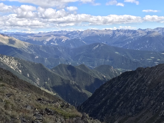 Comapedrosa aerial - Communal Natural Park of the Valls del Comapedrosa-Andorra