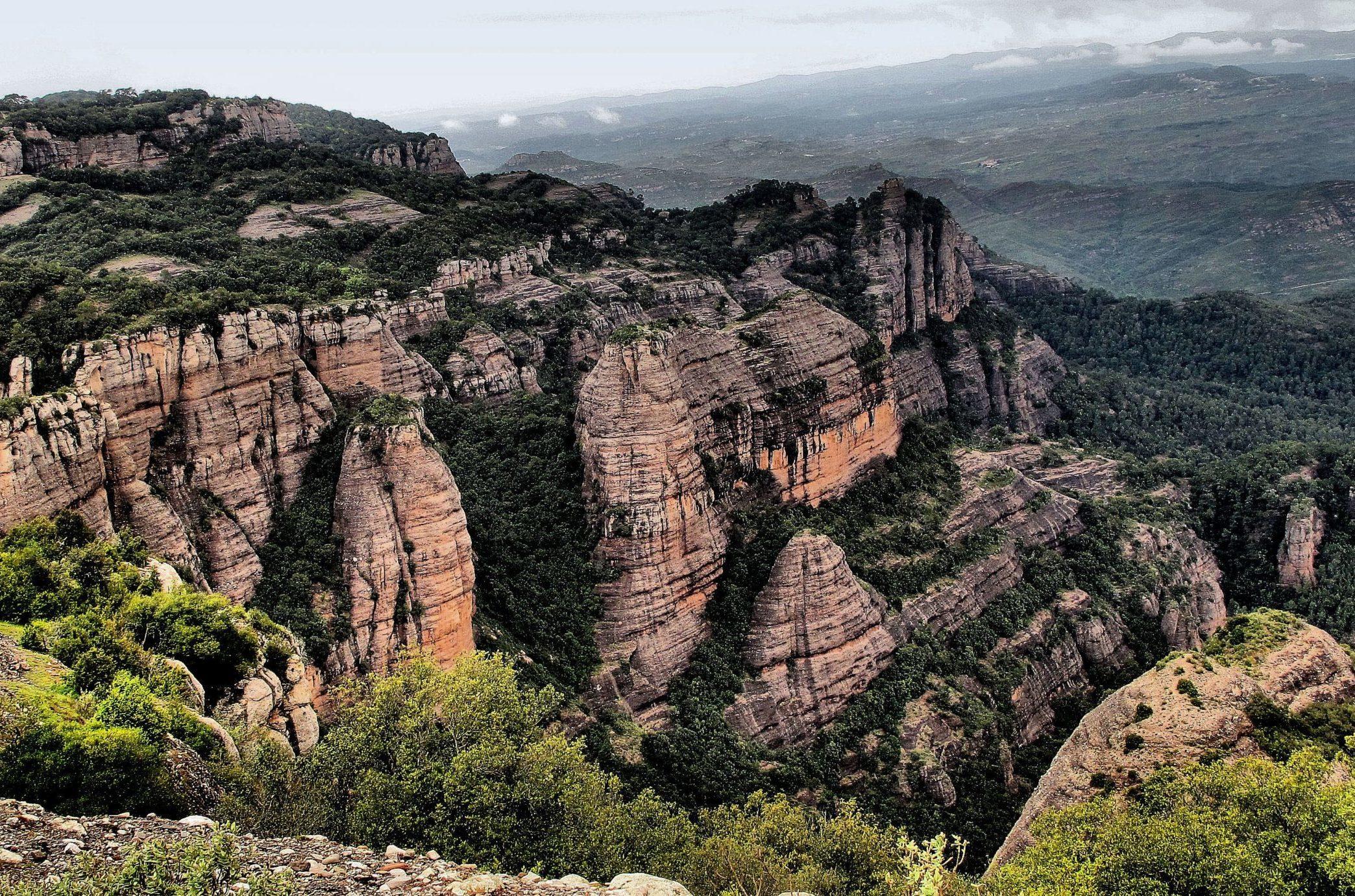 SantLlorencMunt scaled e1589539269385 - Sant Llorenç del Munt i l'Obac-Cataluña-España