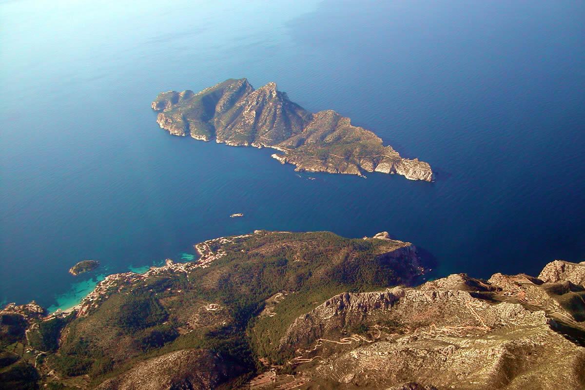 ile dragonera - Sa Dragonera Natural Park-Balearic Islands-Spain