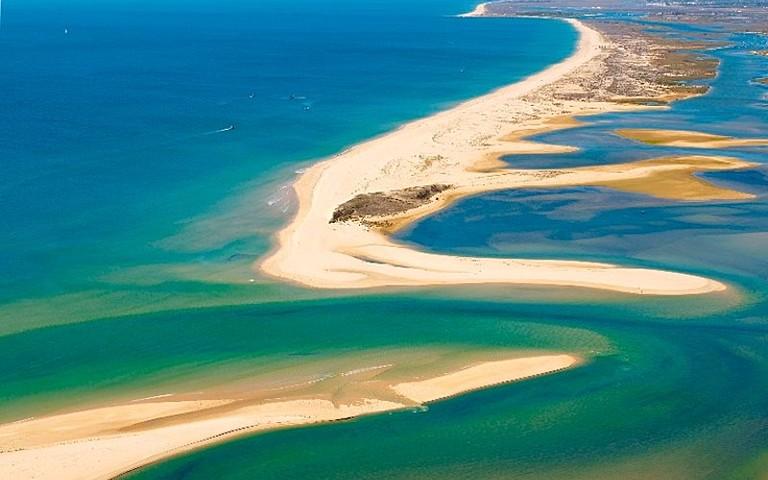 paseo en barco ria formosa - Ria Formosa-Faro-Portugal