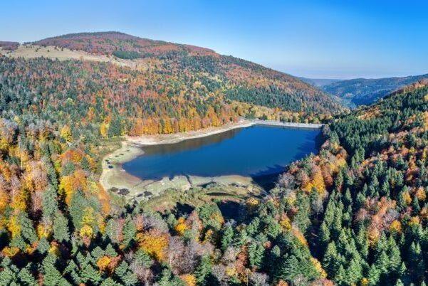 Vosges lake e1601918819309 - Parc Naturel Régional des Ballons de Vosges-Alsace-France