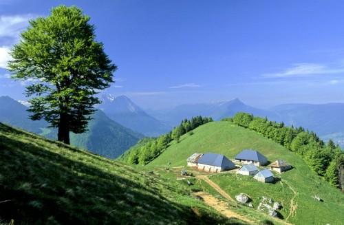Parc naturel Bauges - Parc Naturel Régional du Massif des Bauges-France